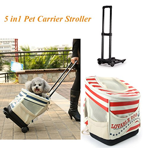 5 In 1 Pet Stroller - 3