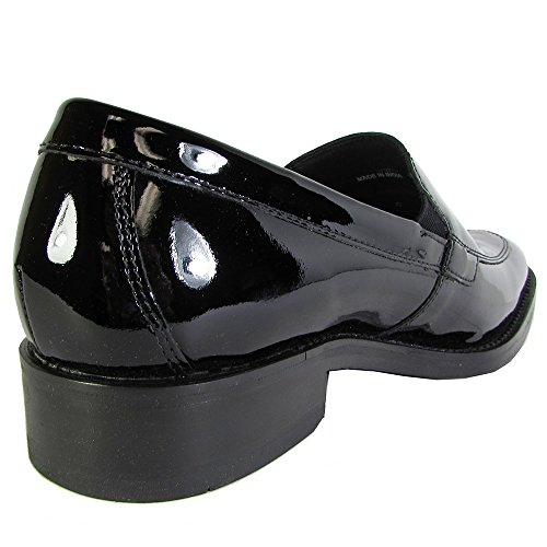 Cole Haan Heren Madison Split Venetiaanse Ii Loafer Schoenen Zwart Patent