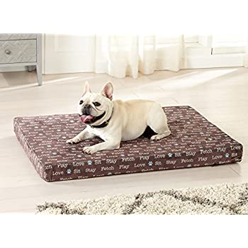 Amazon.com : Great Bay Home Orthopedic Dog Bed with Egg