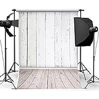 MOHOO Photo Background White Wood Backdrop