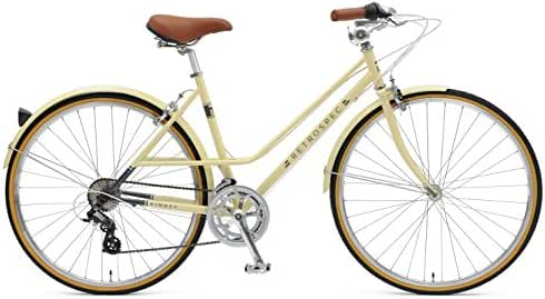 Retrospec Bicycles Kinney 14-Speed Vintage Hybrid Mixte Bicycle