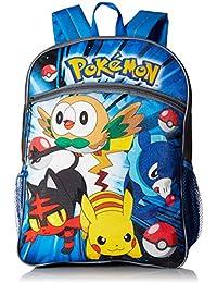 Pokemon Boys' 5 in 1 Backpack, Yellow