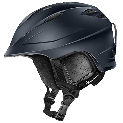 OutdoorMaster Ski Helmet PRO - with Airflow Climate Control & Adjustable Fit - for Men & Women (Gray,M)