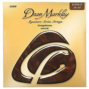 Dean Markley 2008A Vintage Bronze Gitarrensaiten XL