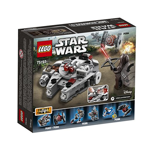 LEGO Star Wars Millennium Falcon Microfighter 75193 Building Kit (92 Piece)