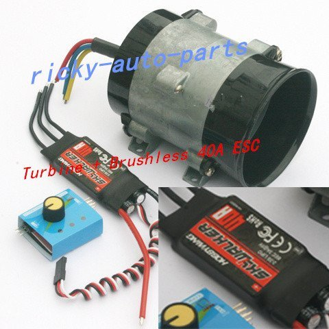 Ting Ao Y-type 5-wire 380W Car Electric Supercharger Turbo intake Fan Boost 12V 16.5A