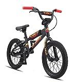 SE Lil Ripper 16 BMX Bike Black Sparkle 16in/16.5in Top Tube Mens - 15