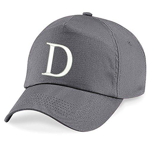 Unisexe Hat Flat Coton Gris z Baseball Filles Hip Broderie Garçons Alphabet Graphite 4sold Cap Bonnet D A Hop Casquette 5qwxv1qPA