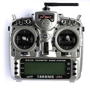FrSky Taranis X9D Plus 16-Channel 2.4ghz ACCST Radio Transmitter (Mode 2)