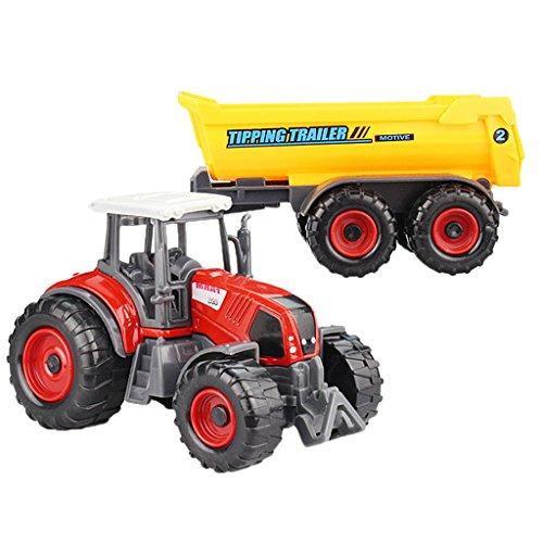 SONONIA 合金製 ミニ農場車両 トラック モデル 子供 屋内と屋外ゲーム ギフト 全10色選べ - #1  20.5 * 6センチメートル