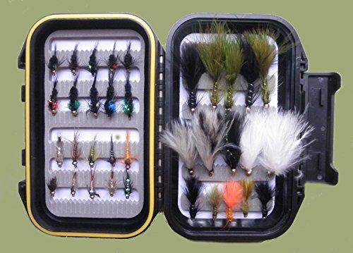 """Fliegenfischen Fliegen /"""" Damsel /"""" 12 X Fly Auswahl für Forellenfischen Größen 10"""