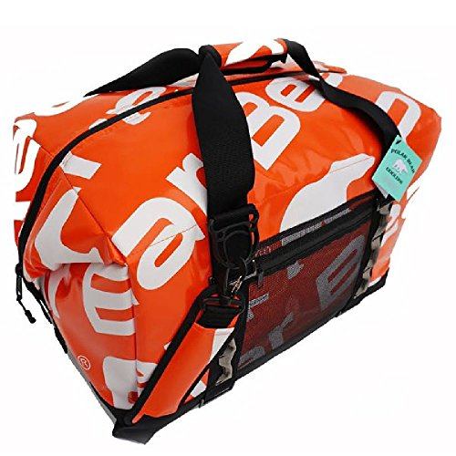 Polar Bear Coolers - H2O Waterproof Line - Quality Like No Other From the Brand You Can Trust - See Touch & FEEL the Patented Polar Bear Difference - 48 Pack Tangerine