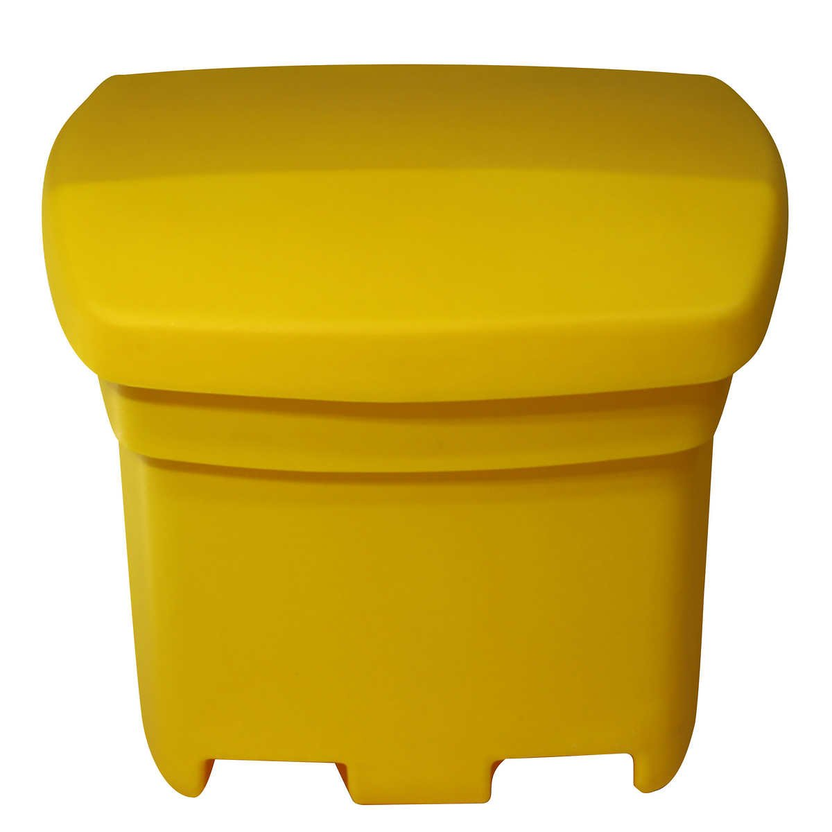 FCMP Outdoor Sand and Salt Storage Bin Yellow