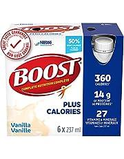 BOOST PLUS Complete Nutrition Drink, Vanilla, 24 x 237 ml
