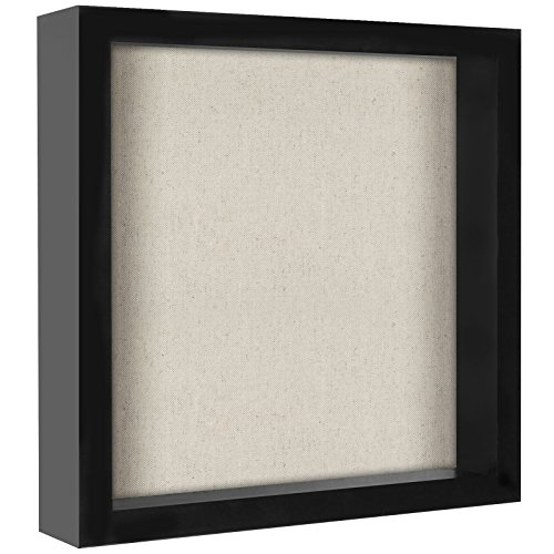 Americanflat 11x11 Shadow Box Frame, Black ()