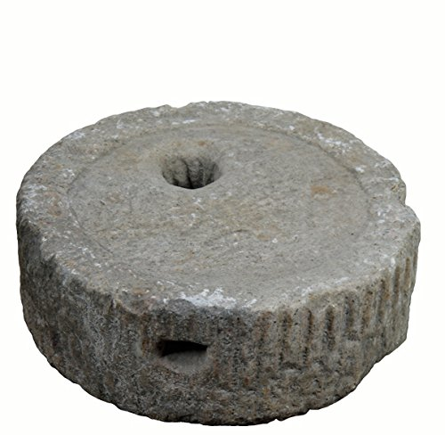 Small Granite Mill Stone Top Water Fountain by DYAG East