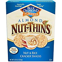 Blue Diamond  Almond Nut-Thins Cracker Crisps, Original Almond, 4.25 Ounce