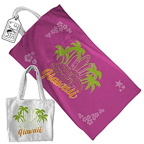 "My Custom Style® Toalla Playa personalizable Full Print Modelo ""Summertime # #"