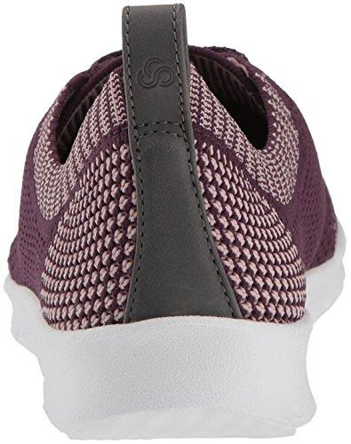 Clarks Aubergine Textile Sneaker Allenasun Women's Step wrWxT6w