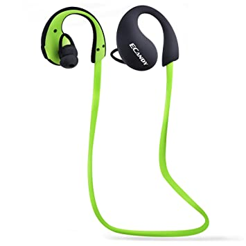 Ecandy impermeable IP66 Bluetooth auriculares inalámbricos estéreo Deportes / Correr Gimnasio / ejercicio Auriculares Bluetooth Auriculares