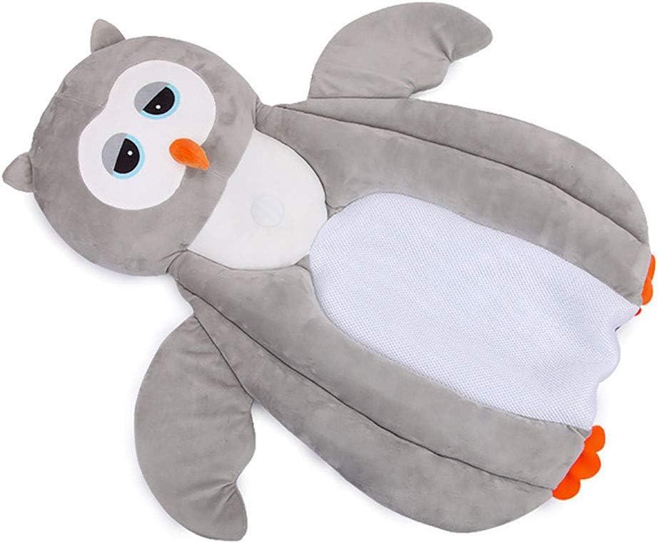 Lindo oso pingüino transpirable niños de 0 años estereotipos almohadilla para dormir Cojín portátil de viaje Almohada multifuncional