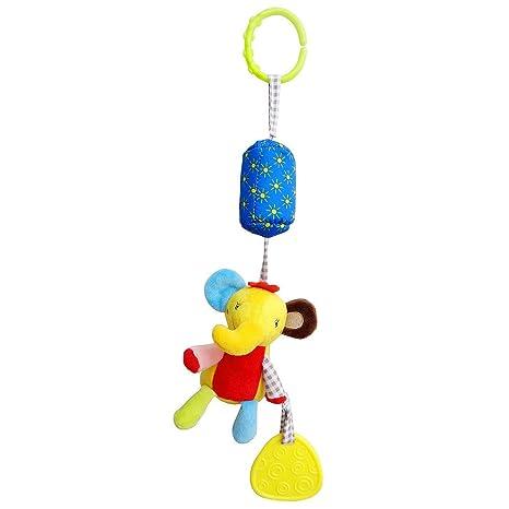 TianranRT Bebé gran animal viento cama del niño colgando campana ...