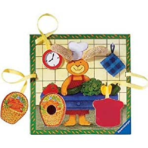 My First Bunny Puzzle Ministeps 18-24 Months
