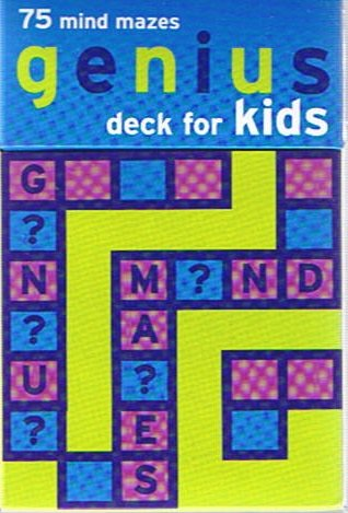 (Genius Deck For Kids - 75 Mind Mazes (Boxed Deck of Cards))
