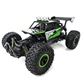 Flytec SL-156A 1:18 Scale High Speed Radio Remote Control Off-Road RC Car (Green)