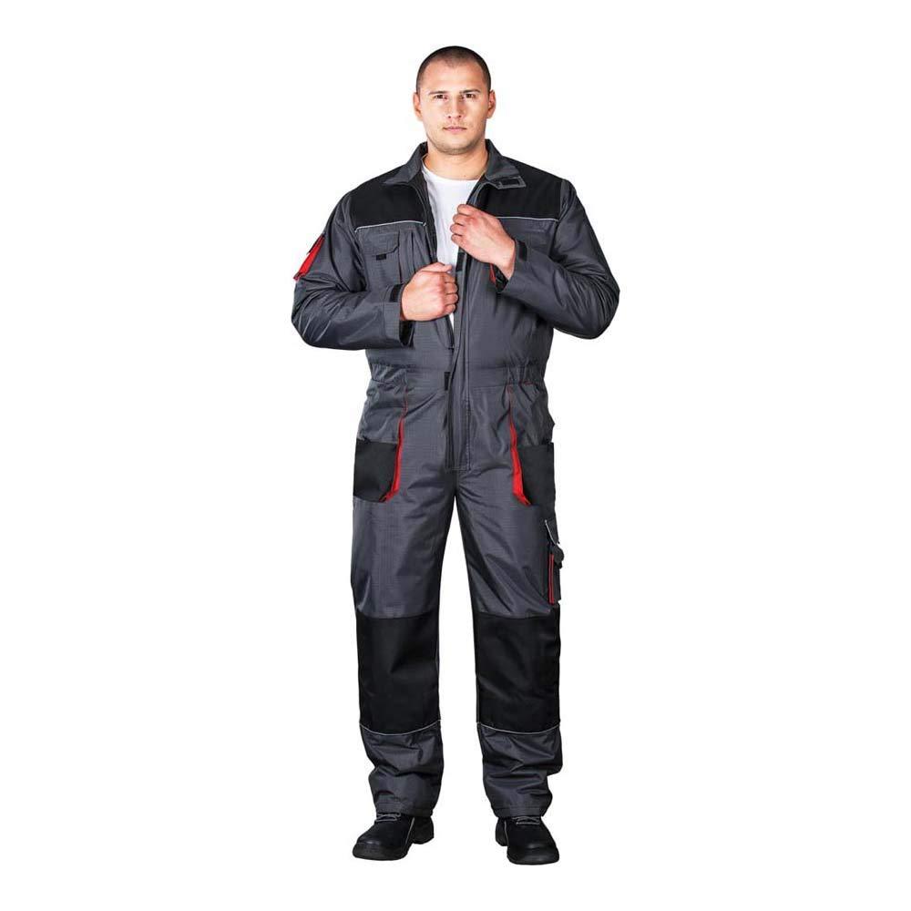 Grau-Schwarz-Rot XL Gr/ö/ße Leber/&Hollman LH-BSW-O/_SBCXL Boston Gef/ütterter Schutzanzug