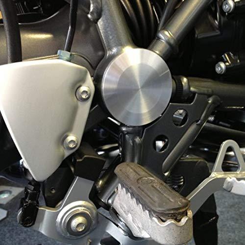 Accessoire moto Haderlein - Couvre de palier - Couvercle de protection pour BMW R 1200 GS Motorradzubehör Haderlein
