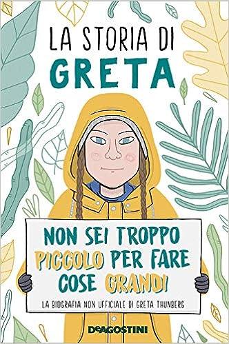 Copertina del libro di Greta Thunberg
