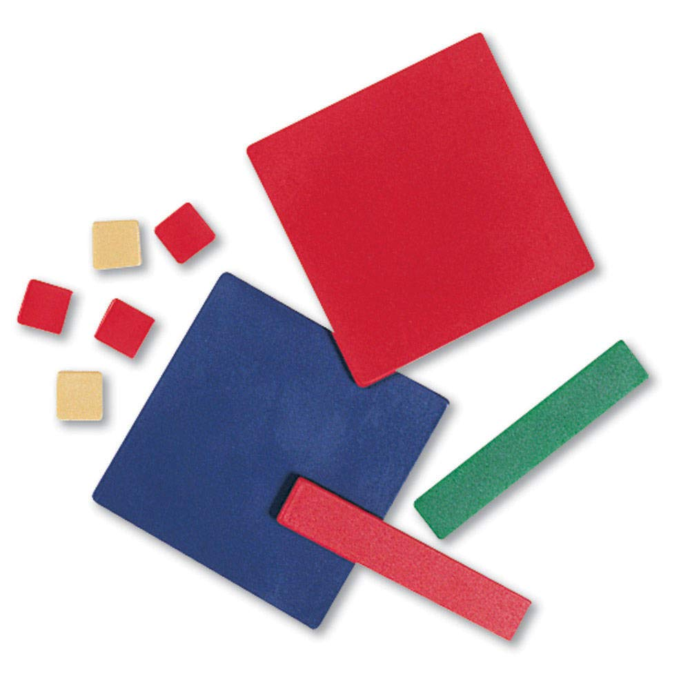 hand2mind Plastic Algebra Tiles Classroom Kit (30 Sets of 32 Pieces) by hand2mind (Image #4)