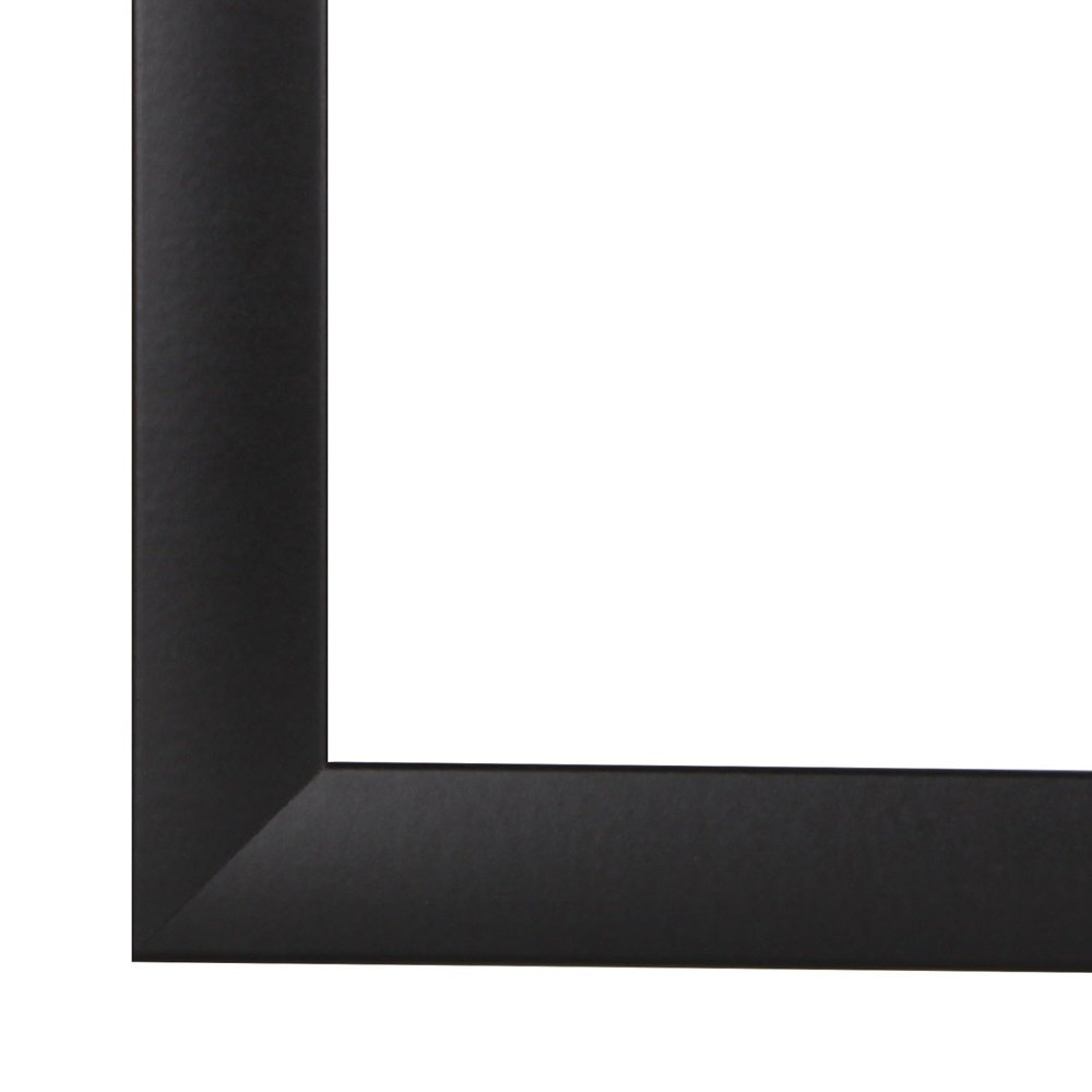 NiRa35-Top Cadre Photo 32x45 cm en Couleur Noir Matt avec Verre Acrylique antireflet