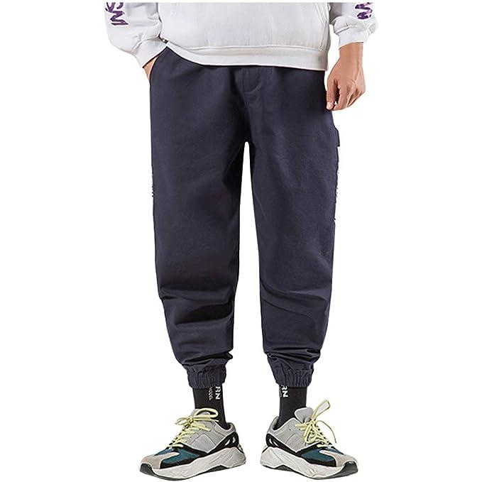 cinnamou Pantalones Chinos Hombre Casual: Amazon.es: Ropa y accesorios