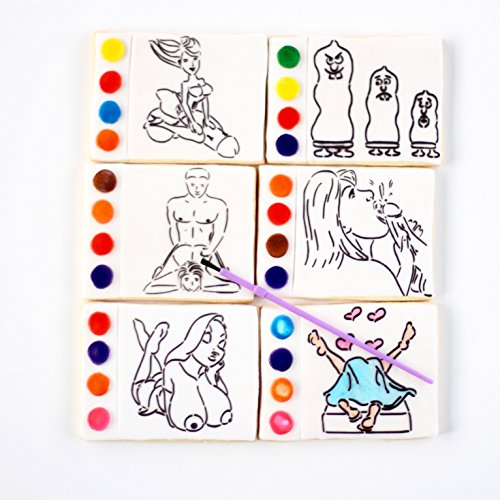1 Paint Your Own Porn Cookies! Erotic Paint Your Own cookies are the newest adult party fun!