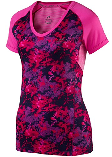 T-SHIRT RINA GRAPHIC - 89471 - 1634 RED / AOP / PINK