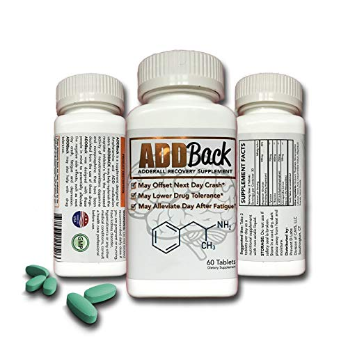 ADDBack Adderall Recovery Supplement (Best Otc Alternative To Adderall)