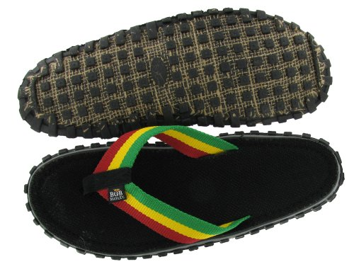 Bob Marley Fresco Mens Tongs Sandales Rasta Impression Taille 12