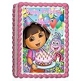 Dora the Explorer 4 Edible Frosting Sheet Cake Topper - 1/4 Sheet Vertical by Cake Topper Designs