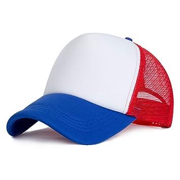 SKAMAO Gorra De Beisbol Gorra De Béisbol Unisex Moda Malla Hombres Mujeres Personalizados Verano Sombrero Hip
