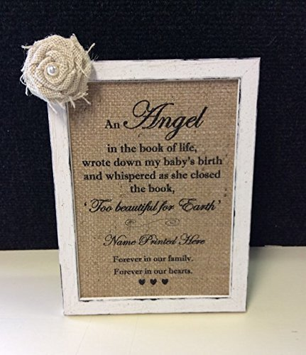 Amazon.com: Baby Loss gift frame, miscarriage or stillbirth framed ...