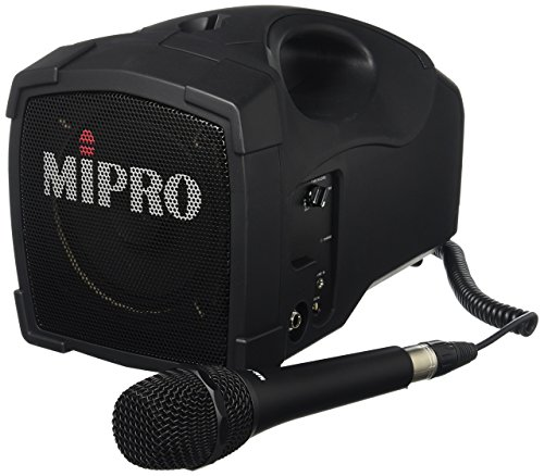 Mipro Portable Pa System (Mipro MA-101C/MM-107 Personal Wired 30-Watt RMS PA)