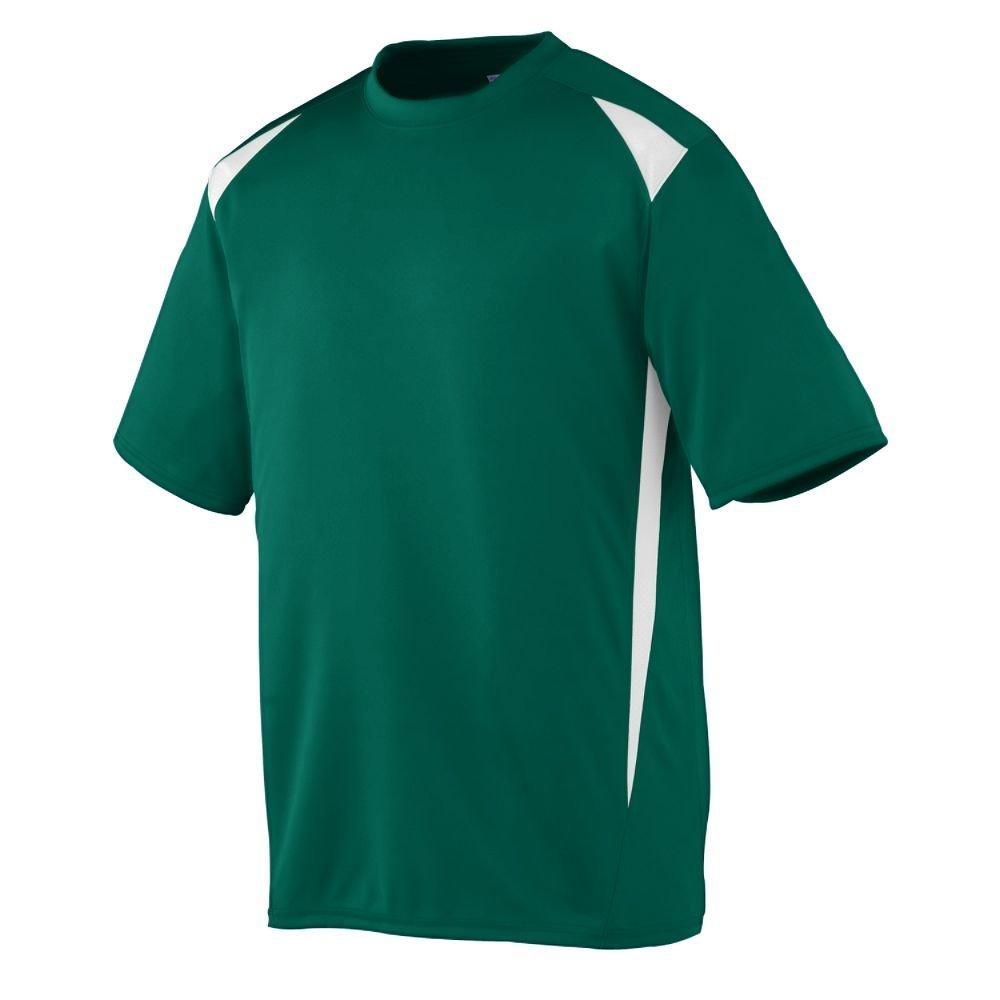 Augusta Sportswearメンズプレミアクルー B00CT4MZS0 X-Large|グリーン/ホワイト グリーン/ホワイト X-Large