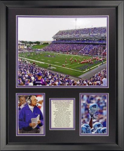 Photo 16x20 Framed (Legends Never Die Kansas State Wildcats - Bill Snyder Family Football Stadium Framed Photo Collage, 16