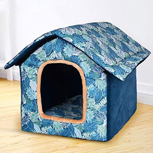 Caseta para Mascotas Caseta Plegable Lavable Perro pequeño Perro Mediano Perro Grande Cama para Mascota Casa de Perro Interior Cuatro Temporadas Disponibles ...