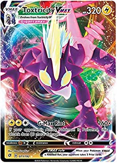 Pokemon Sword and Shield Rebel Clash Toxtricity V 070//192 Pack Fresh