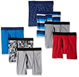Hanes Boys' ComfortSoft Printed Boxer Briefs, assorted, X Small