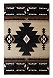 South West Native American Area Rug 5 Ft X 7 Ft Berber Design # C318