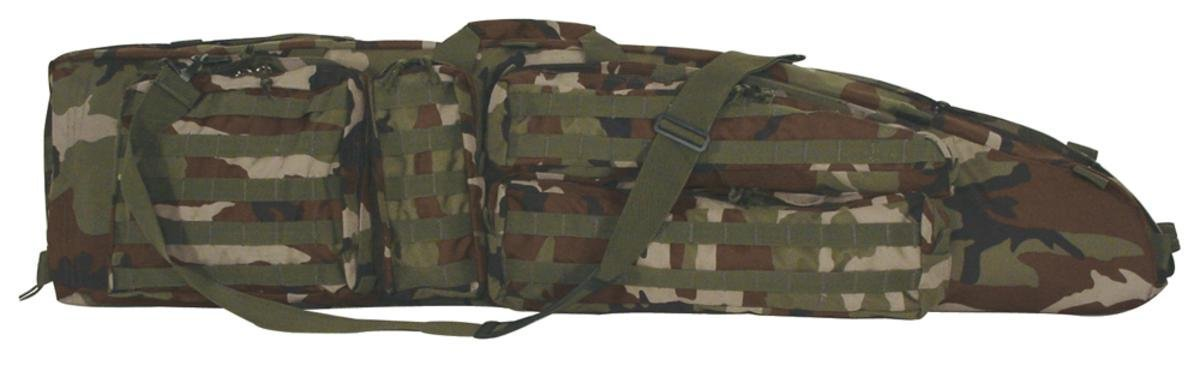 VooDoo Tactical 15-7981005000 The Ultimate Drag Bag, Woodland Camo, 51'' by VooDoo Tactical (Image #1)
